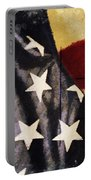 America Flag Pattern Postcard Portable Battery Charger