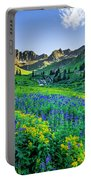 American Basin In Bloom Portable Battery Charger