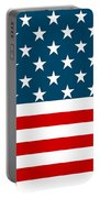 American Beach Towel Portable Battery Charger