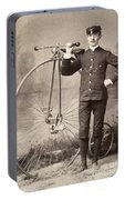 American Bicyclist, 1880s Portable Battery Charger