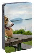 American Breed On Table Portable Battery Charger