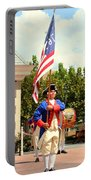 American Fife And Drum Corp Flag Carrier Portable Battery Charger
