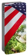 American Flag 1 Portable Battery Charger