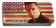 American Icon Johnny Cash Portable Battery Charger