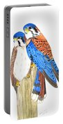 American Kestrels Portable Battery Charger