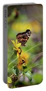 American Lady Butterfly Seaside Portable Battery Charger