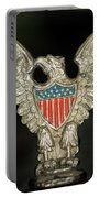 American Metal Eagle Portable Battery Charger