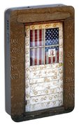 American Native Finger Prints Portable Battery Charger