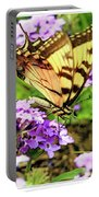 Yellow Eastern Tiger Swallowtail Series Portable Battery Charger