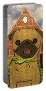 American Pug Gothic Portable Battery Charger