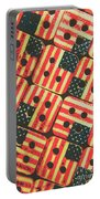American Quilting Background Portable Battery Charger