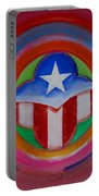 American Star Button Portable Battery Charger