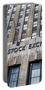 American Stock Exchange Building New York  Portable Battery Charger