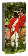 Americana - People - Preparing For Battle Portable Battery Charger