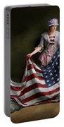 Americana - Flag - Birth Of The American Flag 1915 Portable Battery Charger