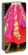 Ameynra Belly Dance Fashion - Multi-color Skirt 93 Portable Battery Charger