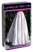 Ameynra Design. Satin Skirts - Red, White, Blue Portable Battery Charger