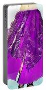 Ameynra Fashion - Iris Skirt Portable Battery Charger