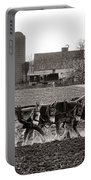 Amish Agriculture  Portable Battery Charger