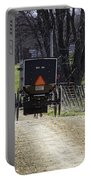 Amish Buggy March 2016 Portable Battery Charger