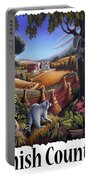 Amish Country - Coon Gap Holler Country Farm Landscape Portable Battery Charger