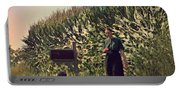 Amish Girls Watermelon Break Portable Battery Charger