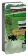 Amish Horse And Buggy Farm Portable Battery Charger