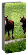Amish Horse Team Portable Battery Charger