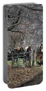 Amish Horses In Harness Portable Battery Charger