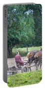 Amish Lady Disking Portable Battery Charger