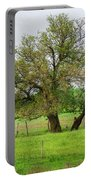 Amish Man And Tree Portable Battery Charger