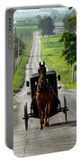 Amish Morning Commute Portable Battery Charger