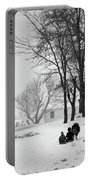 Amish Sled Ride Portable Battery Charger