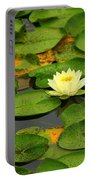Among The Lily Pads Portable Battery Charger