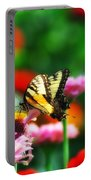Amongst The Flowers Portable Battery Charger