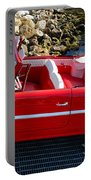 Amphicar Red  Portable Battery Charger