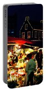 Amsterdam Flower Market Portable Battery Charger