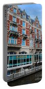 Amsterdam Holland Canal Hotel Restaurant Portable Battery Charger