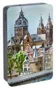 Amsterdam Holland Portable Battery Charger