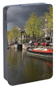 Amsterdam Prinsengracht Canal Portable Battery Charger
