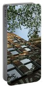 Amsterdam Spring - Fancy Brickwork Glow - Left Horizontal Portable Battery Charger