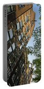 Amsterdam Spring - Fancy Brickwork Glow - Right Vertical Portable Battery Charger