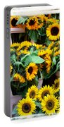 Amsterdam Sunflowers Portable Battery Charger