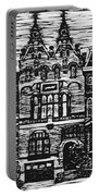Amsterdam Woodcut Portable Battery Charger