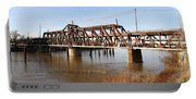 Amtrak California Crossing The Old Sacramento Southern Pacific Train Bridge . 7d11674 Portable Battery Charger