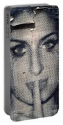 Amy Whinehouse Portable Battery Charger