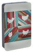Amy's Chickens Portable Battery Charger