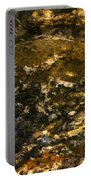 An Abstract Fall Reflection Portable Battery Charger
