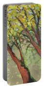 An Afternoon At The Park Portable Battery Charger by Jennifer Lommers