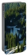 An Alpine Lake  Portable Battery Charger by Jeff Swan